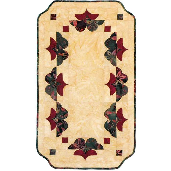 Pagoda Garden Table Runner