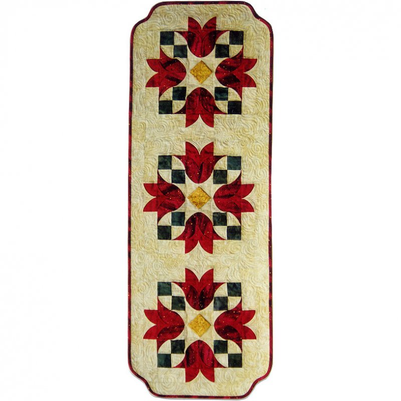 Tulip Bells Table Runner