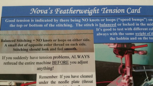 Nova's Featherweight Tension Card