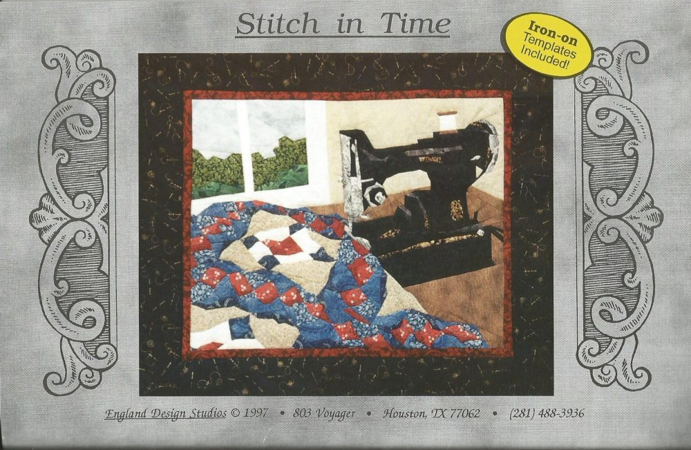 Stitch in Time pattern by Cynthia England