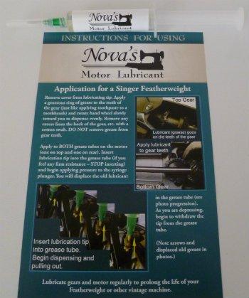 Nova's Motor Lubricant