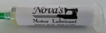 Nova's Motor Lubricant for Singer Featherweight 221 and other vintage Singers
