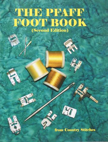 BKS PFAFF FOOT BOOK DISC.