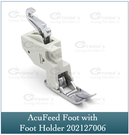 Acufeed Foot with Holder (Single) Janome 202127006