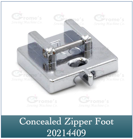 Invisible Zipper Foot Janome 202144009