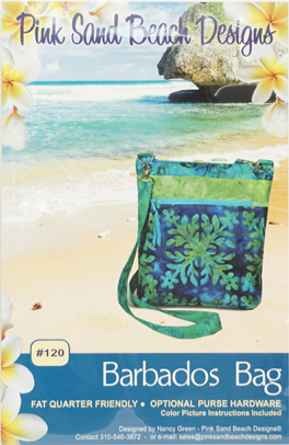 PATTERN BARBADOS BAG PSB120