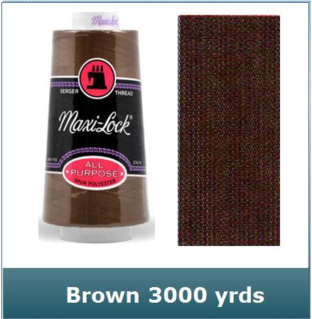 Maxi Lock Brown