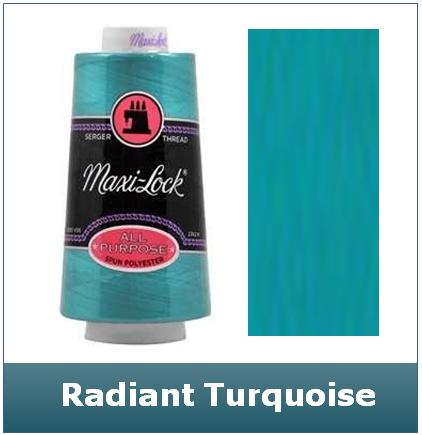 Maxi Lock Radiant Turquoise