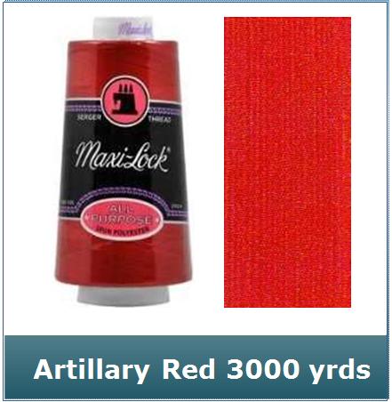 Maxi Lock Artillery Red