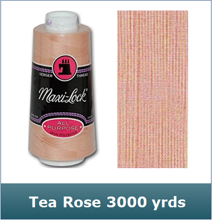 Maxi Lock Tea Rose