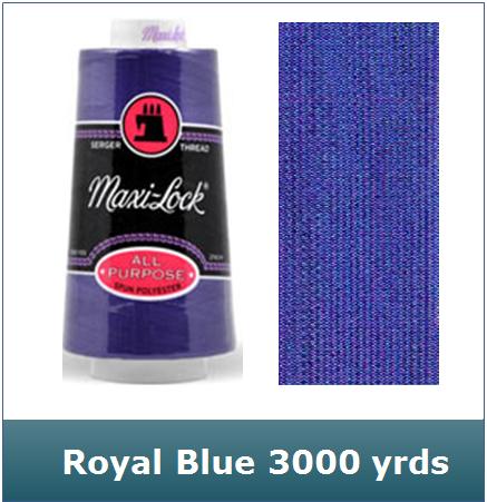 Maxi Lock Royal Blue