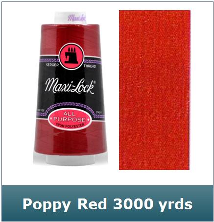 Maxi Lock Poppy Red