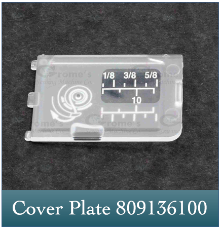 Cover Plate Janome 809136100