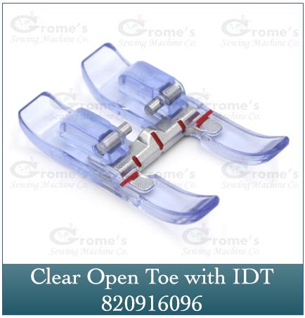 Foot Open Toe Clear 820916096