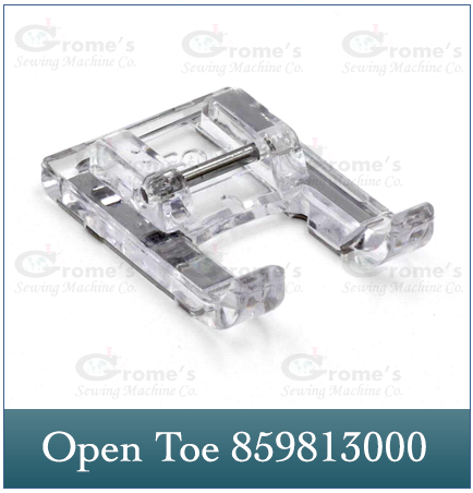 Open Toe Foot Janome 859813000
