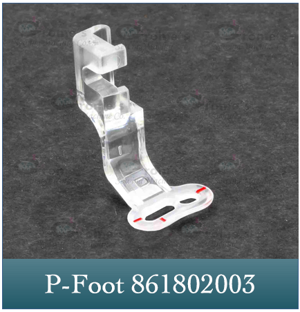 Embroidery P Foot Janome 861802003