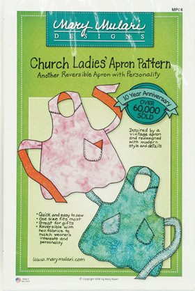 PATTERN CHURCH LADIES APRON