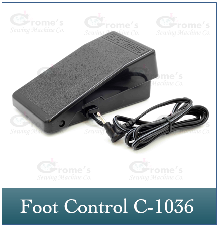 Foot Control Janome C-1036