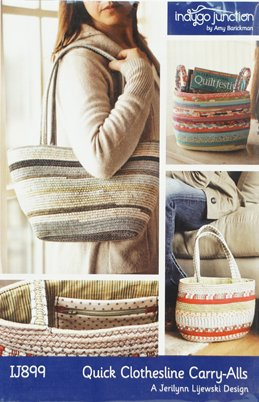 PATTERN QUICK CLOTHESLINE CARRY ALL