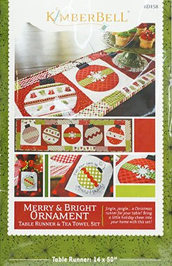 PATTERN MERRY & BRIGHT ORNAMENT
