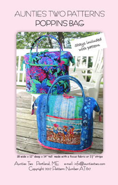 PATTERN POPPINS BAG
