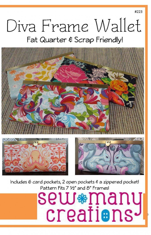 Pattern Diva Frame Wallet
