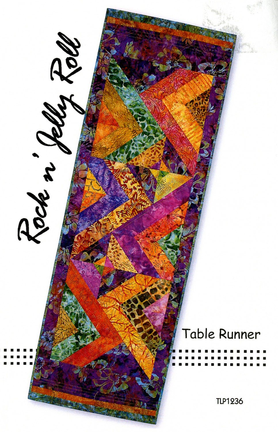 PATTERN ROCK N JELLY ROLL TABLE RUNNER