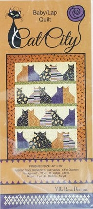 PATTERN CAT CITY QUILT