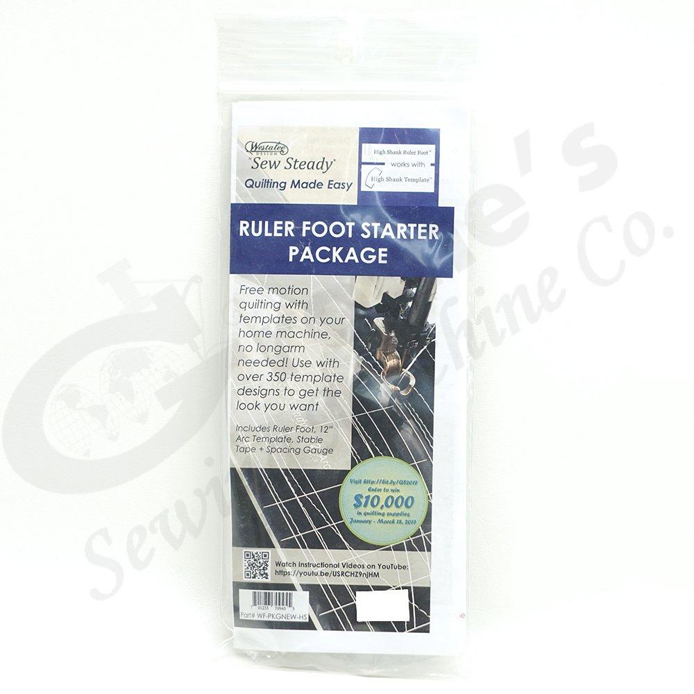 WESTALEE RULER FOOT STARTER KIT HIGH SHANK