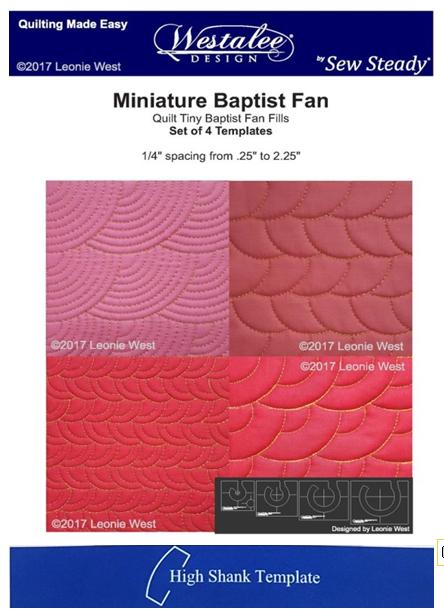 RULERWORK MINI BAPTIST FAN SET