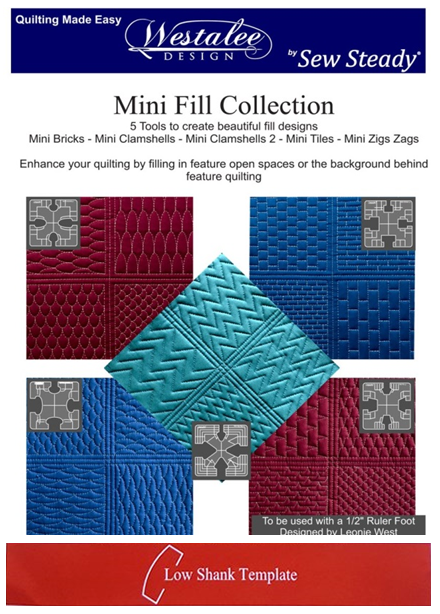 RULERWORK TEMPLATE MINI FILL COLLECTION