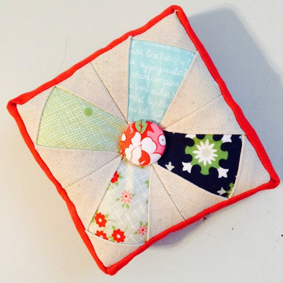 Criss Cross Pin Cushion