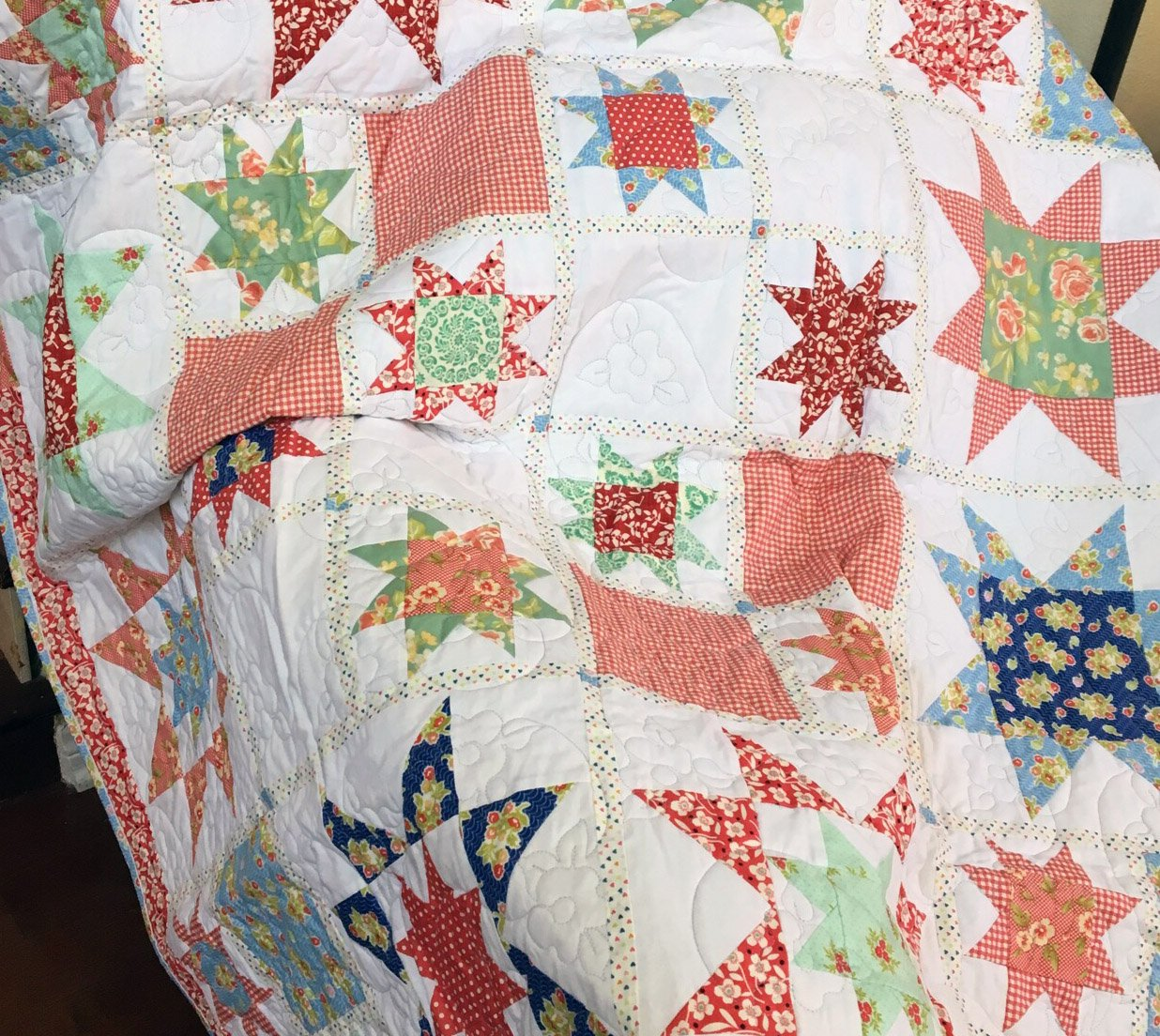 American Picnic Quilt & Kit