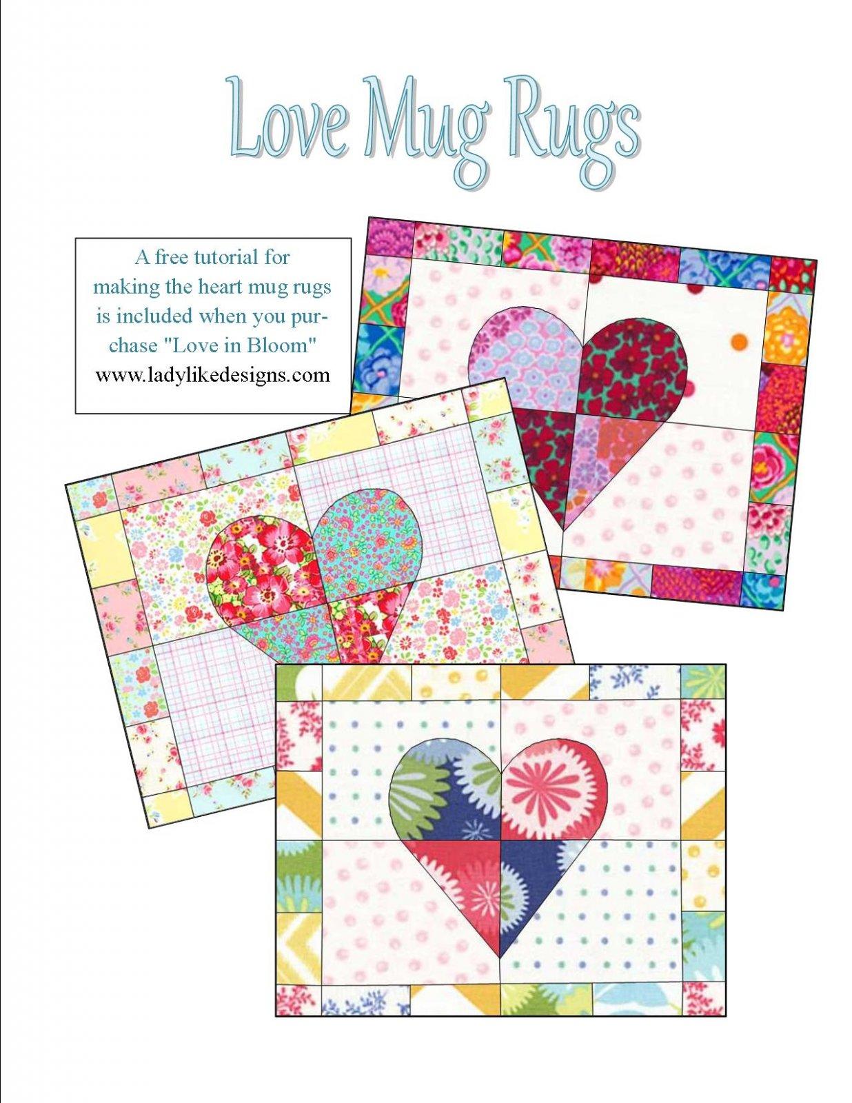 Mug Rug Pattern Kits