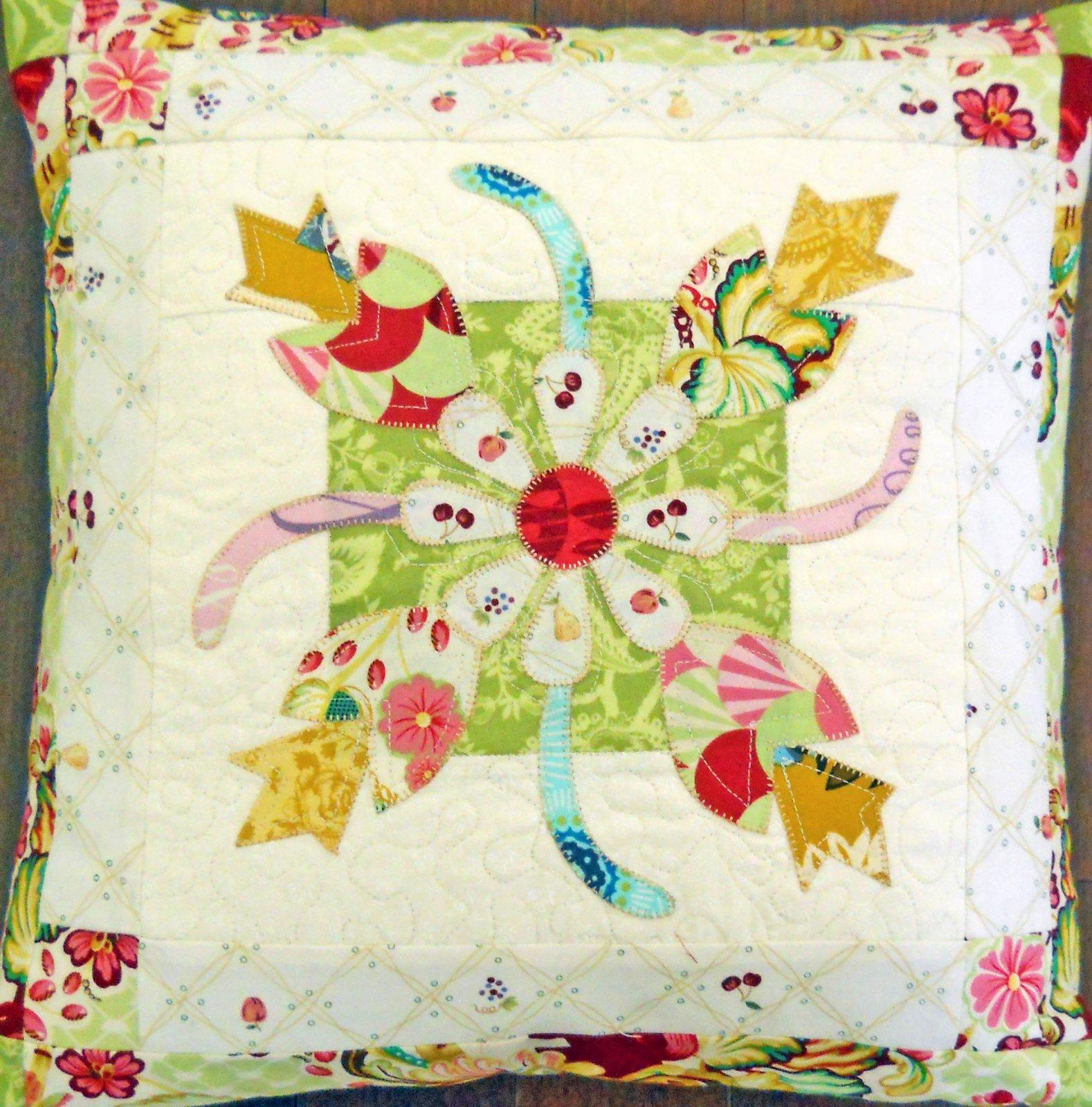 Paris Pillow - sample