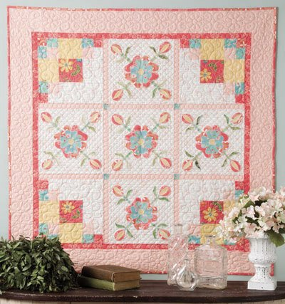 Quilted Roses - Quilt Kit