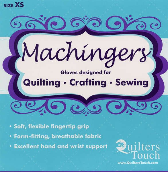 Machingers Quilting Gloves XS