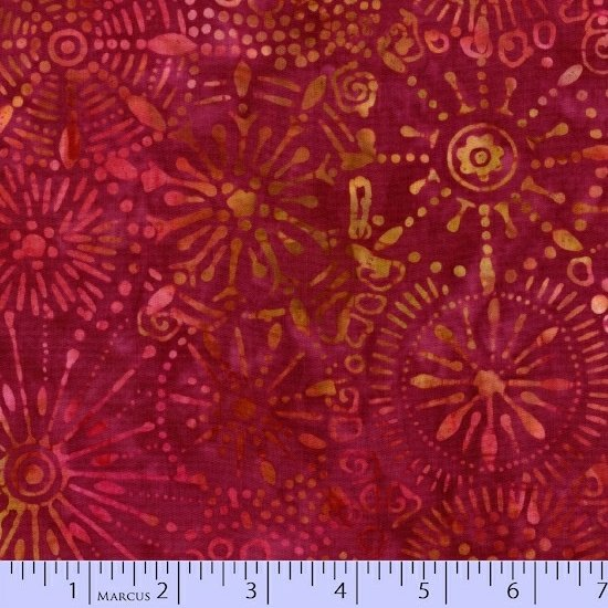 Primo Batiks - Radiant Reflections by Sarah J Maxwell for Marcus Bros Fabrics sku:1504-0163