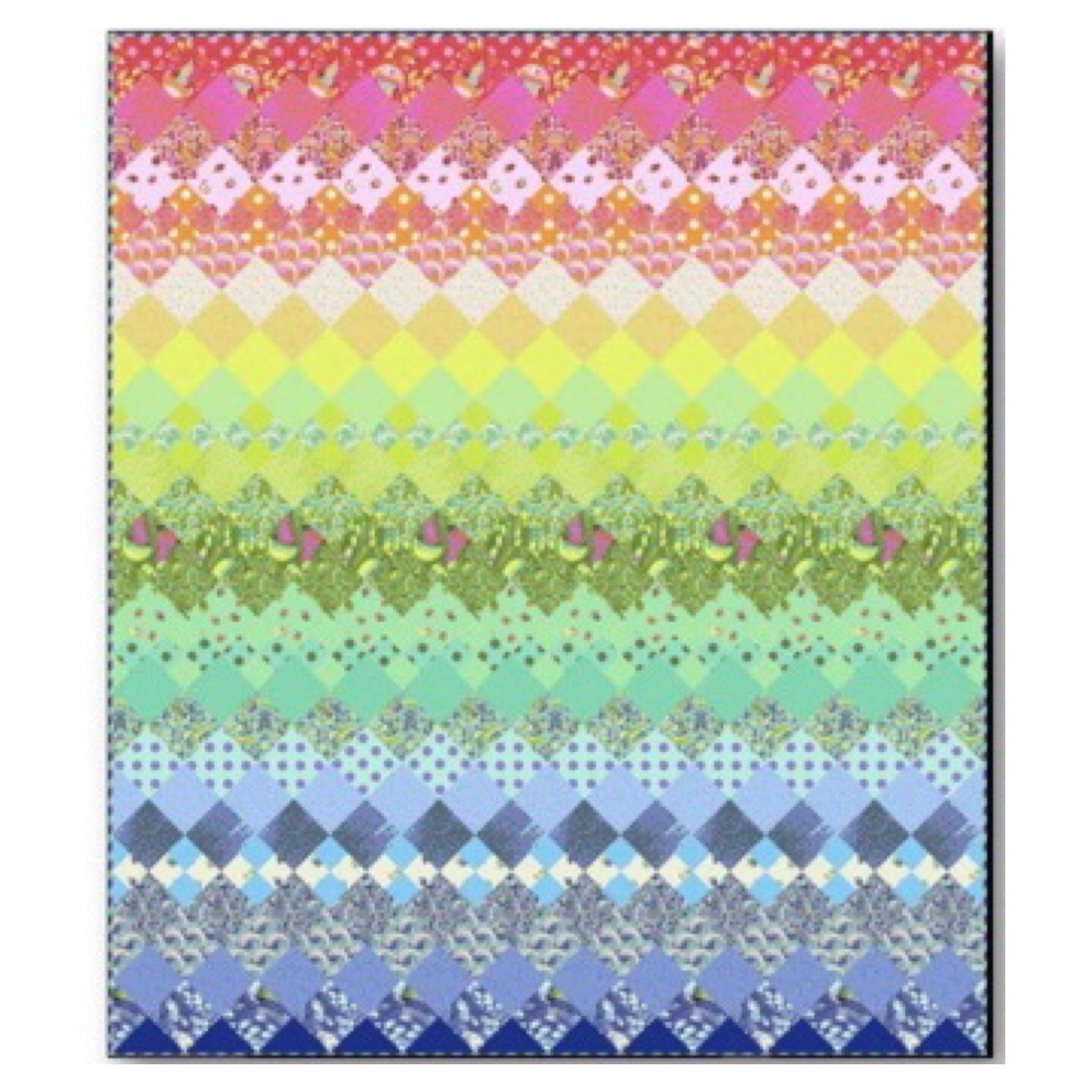 Tula Pink Aurora Quilt Kit featuring Zuma