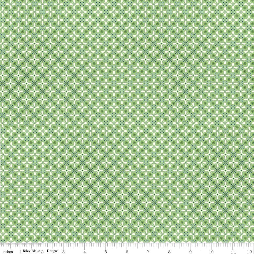 Farm Girl Vintage - Vintage in Green by Lori Holt for Riley Blake Designs