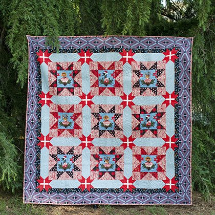 Free - Holidays with Our Homies PDF Quilt Pattern
