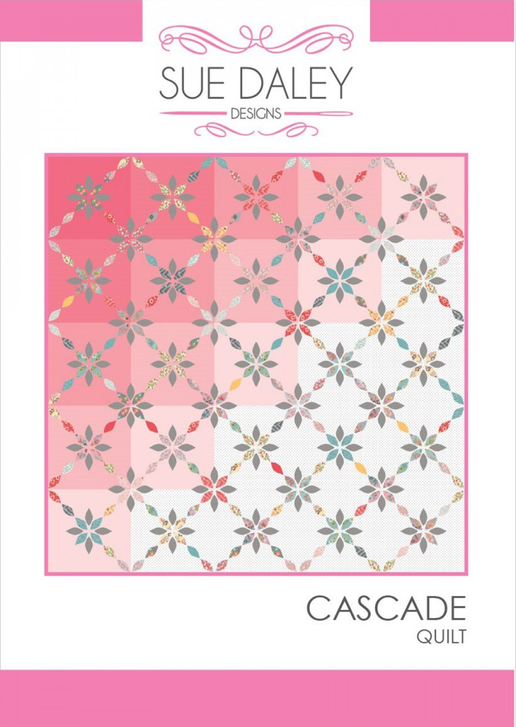 Cascade Quilt Pattern by Sue Daley Designs