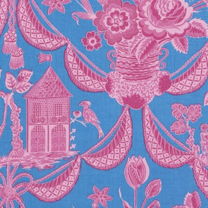 Sunny Isle - Kat in Pink by Jennifer Paganelli for Free Spirit Fabrics