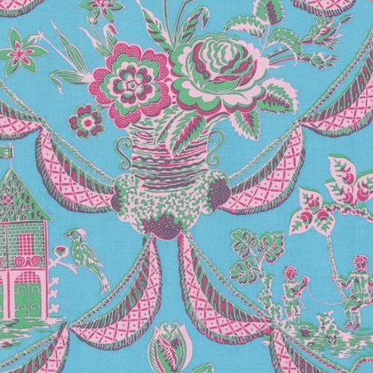 Sunny Isle - Kat in Sky by Jennifer Paganelli for Free Spirit Fabrics