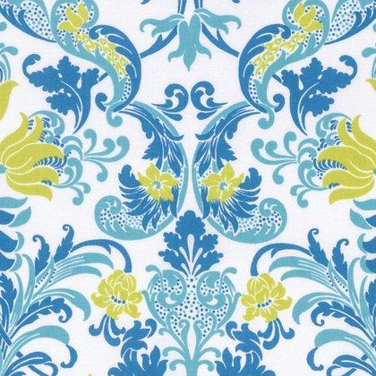 Sunny Isle - Dawn in Blue by Jennifer Paganelli for Free Spirit Fabrics