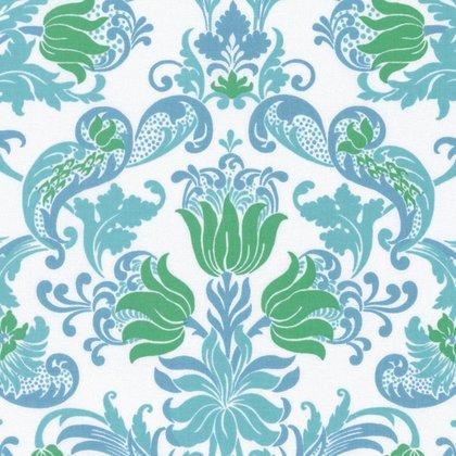 Sunny Isle - Dawn in Green by Jennifer Paganelli for Free Spirit Fabrics