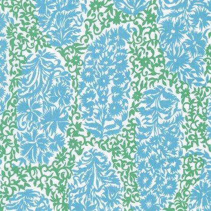 Sunny Isle - Alberto in Green by Jennifer Paganelli for Free Spirit Fabrics