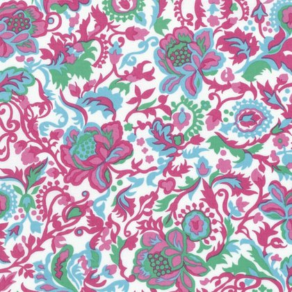 Sunny Isle - Claire in Green by Jennifer Paganelli for Free Spirit Fabrics