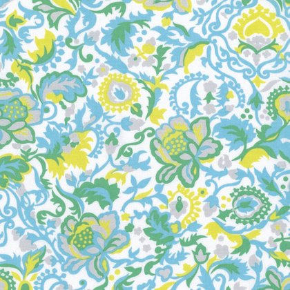 Sunny Isle - Claire in Sky by Jennifer Paganelli for Free Spirit Fabrics