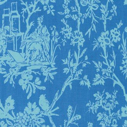 Sunny Isle - Amber in Sky by Jennifer Paganelli for Free Spirit Fabrics